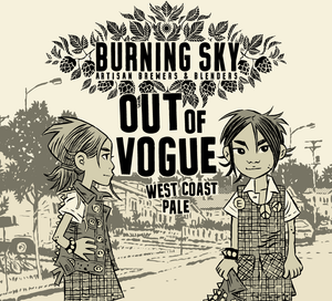 Out Of Vogue - Burning Sky - West Coast Pale 5.9%, 440ml