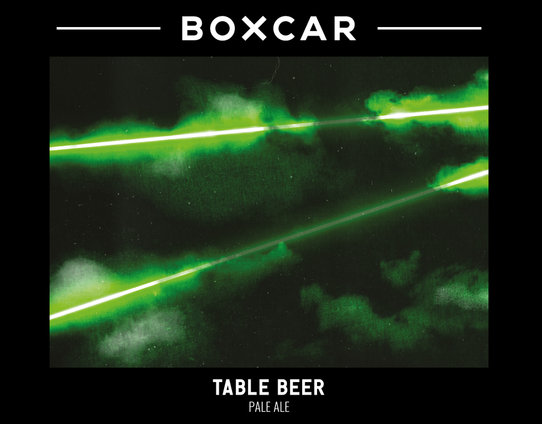 Table Beer - Boxcar Brewery - Table Beer, 3.6%, 440ml