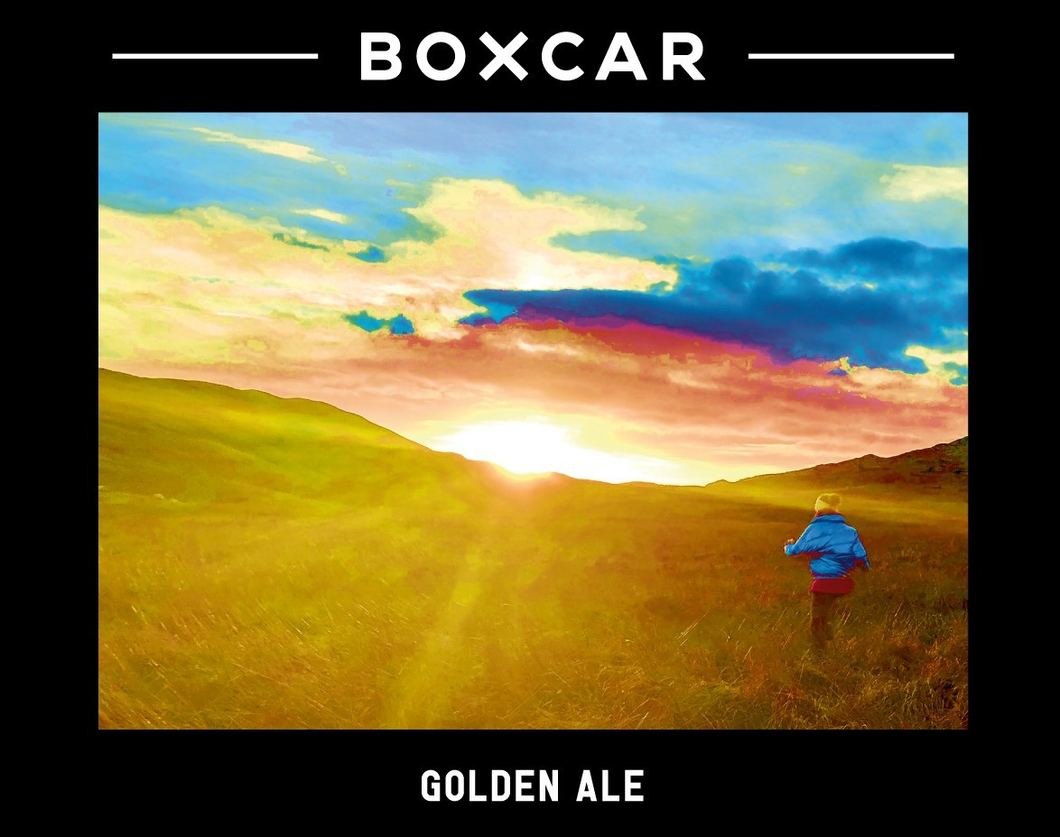 Golden Ale - Boxcar Brewery - English Golden Ale, 4.2%, 440ml Can