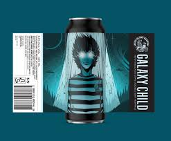 Galaxy Child - Seven Island Brewery - New England DDH DIPA, 8.5%, 440ml Can