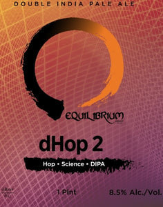 dHop2 - Equilibrium Brewery - DIPA, 8.5%, 473ml Can