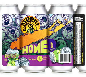 Home D - Barrier Brewing Co - DIPA, 8%, 473ml Can
