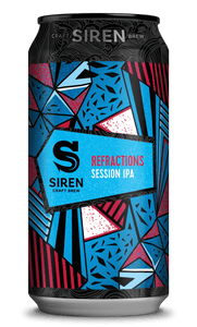 Refractions - Siren Craft Brew - Session IPA, 4.2%, 440ml Can
