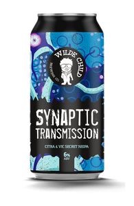 Synaptic Transmission - Wilde Childe Brewing Co - Citrus & Vic Secret NEIPA, 6%, 440ml Can