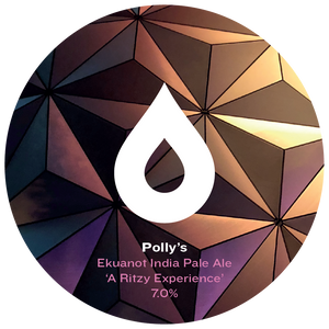 A Ritzy Experience - Polly's Brew Co - Ekuanot IPA, 7%, 440ml