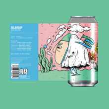 Load image into Gallery viewer, Go Ahead - Left Handed Giant - Raspberry & Rhubarb Sour, 5%, 440ml Can
