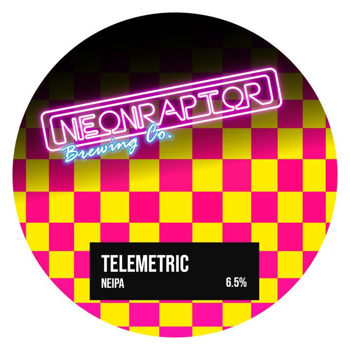 Telemetric - Neon Raptor - New England IPA, 6.5%, 440ml
