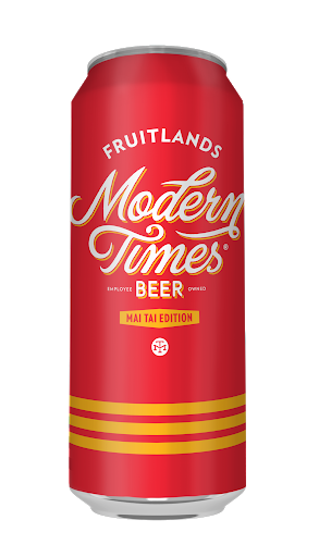Fruitlands Mai Tai Edition - Modern Times - Orange, Lime & Pineapple Gose, 4.8%, 568ml Can