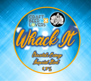 Whack It - Beer Ink - Chocolate Imperial Stout, 8.5%, 330ml Bottle