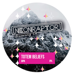 Totem Beliefs - Neon Raptor - DIPA, 8%, 440ml Can