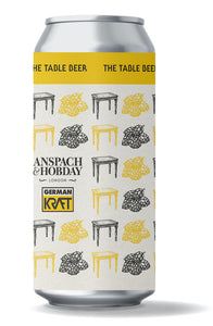 The Table Beer - Anspach & Hobday - Table Beer, 3%, 440ml Can