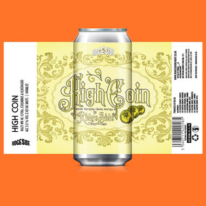 High Coin - Ridgeside Brewery - Hazy IPA, 5.5%, 440ml Can