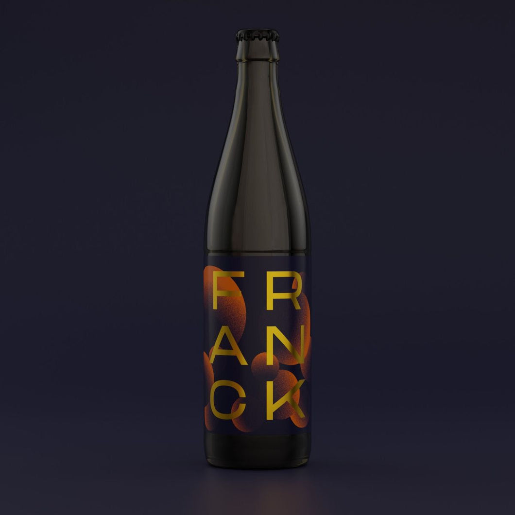 Franck - Zapato Brewery - Citra Saturated Belgian IPA, 6.5%, 500ml Bottle