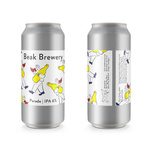 Parade IPA - Beak Brewery - DDH IPA, 6%, 440ml Can
