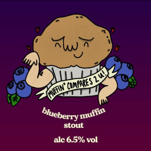 Muffin Compares 2 U - Ridgeside Brewery - Blueberry Muffin Stout - 6.5%, 440ml Can