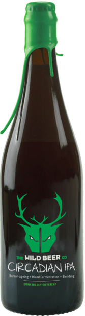 Circadian IPA - Wild Beer Co - Barrel Aging + Mixed Fermentation + Blending, 6.5%, 750ml Sharing Beer Bottle