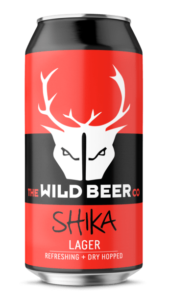 Shika - Wild Beer Co - Dry Hopped Lager, 4.5%, 440ml Can