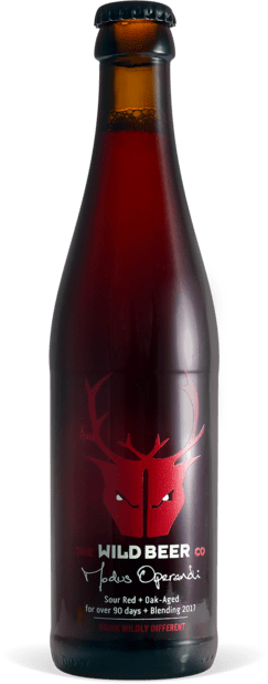 Modus Operandi - Wild Beer Co - Sour Red + Oak Aged for over 90 days + Blending 2018, 7.3%, 330ml Bottle