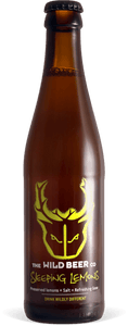 Sleeping Lemons - Wild Beer Co - Preserved Lemons + Salt = Refreshing Gose, 3.6%, 330ml Bottle