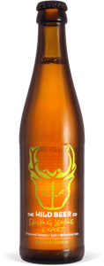 Sleeping Lemons Export - Wild Beer Co - Preserved Lemons + Salt + Export Strength, 6%, 330ml Bottle
