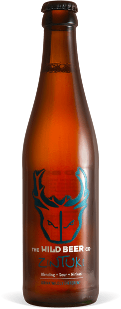 Zintuki - Wild Beer Co - Blending + Sour + Ninkasi, 7.3%, 330ml Bottle