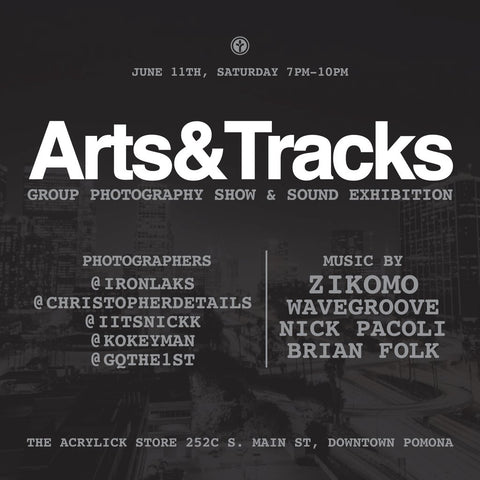Arts & Tracks Event - Pomona