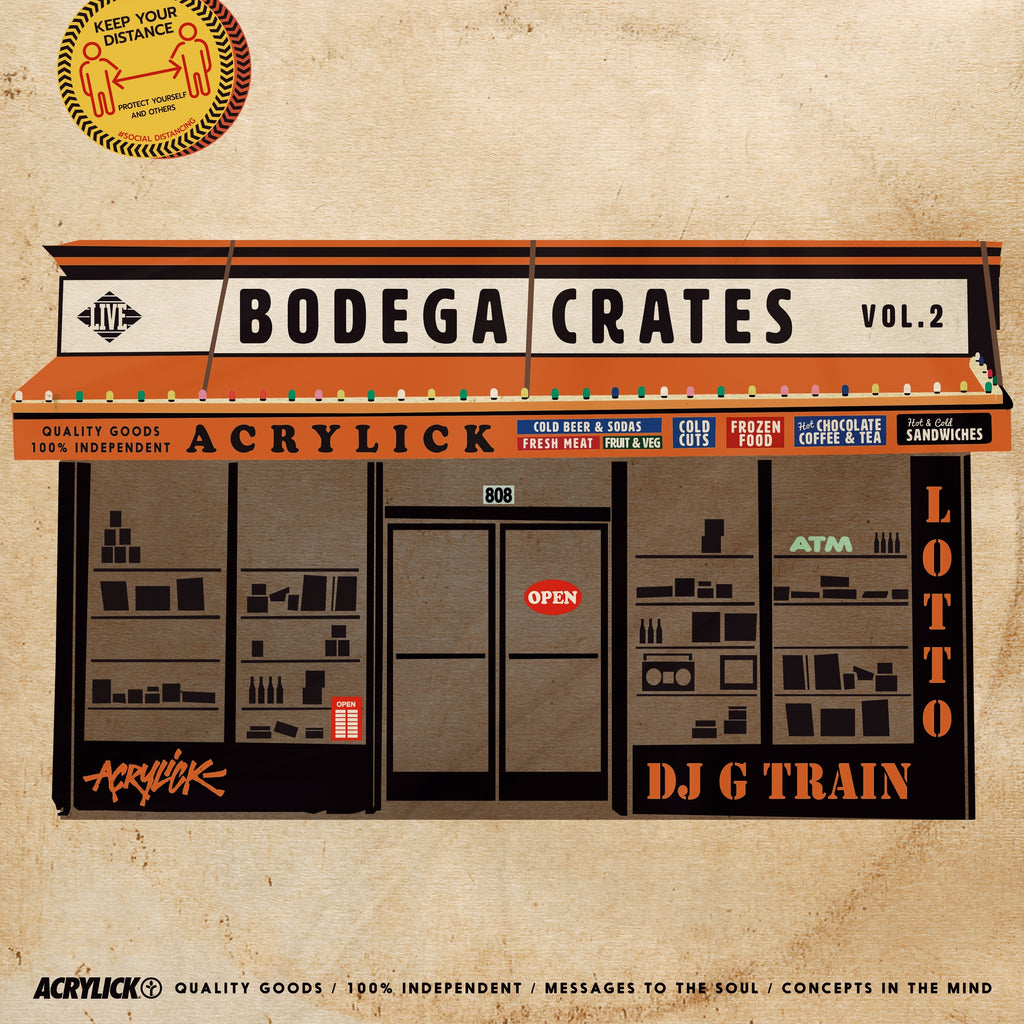Bodega Crates Vol.2 - Dj G Train