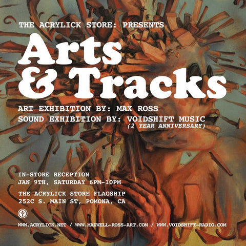 The Acrylick Store Presents: Arts & Tracks