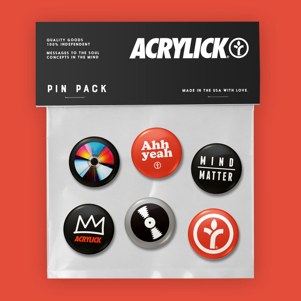 Acrylick Pin Pack