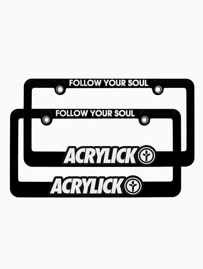 License Plate Frames (Pair) | ACRYLICK®