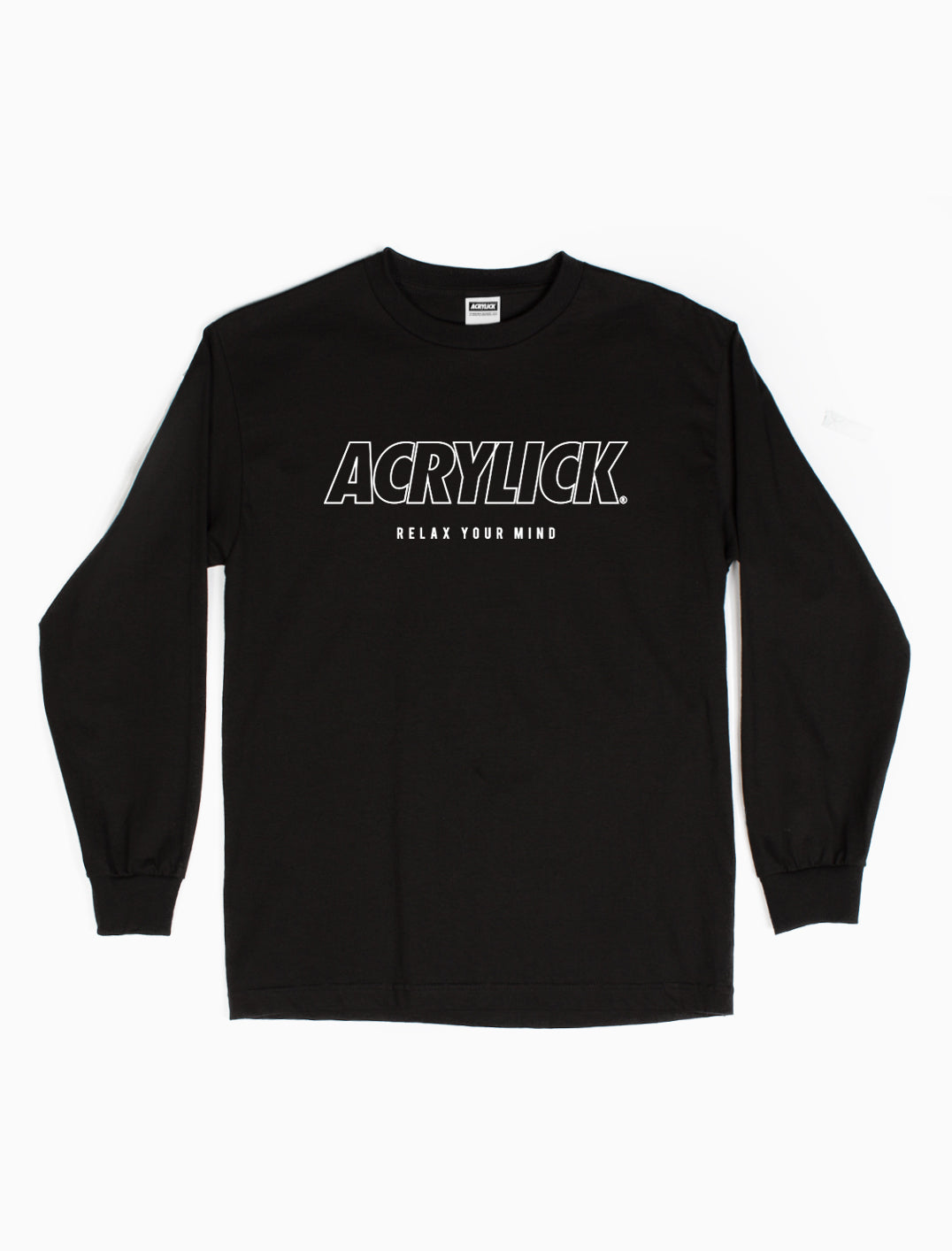 Acrylick - Blueprint - Long Sleeve Tee  (2142795464815)
