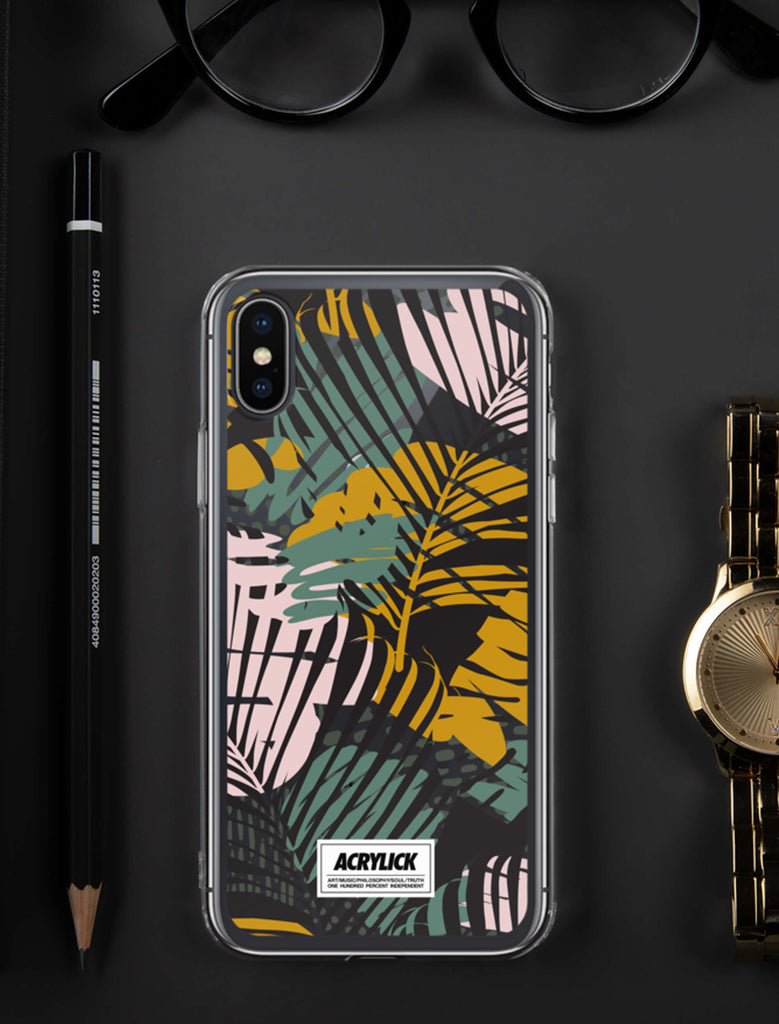 Acrylick Phone Case - Abstract Plant Life Nature (3929058476143)