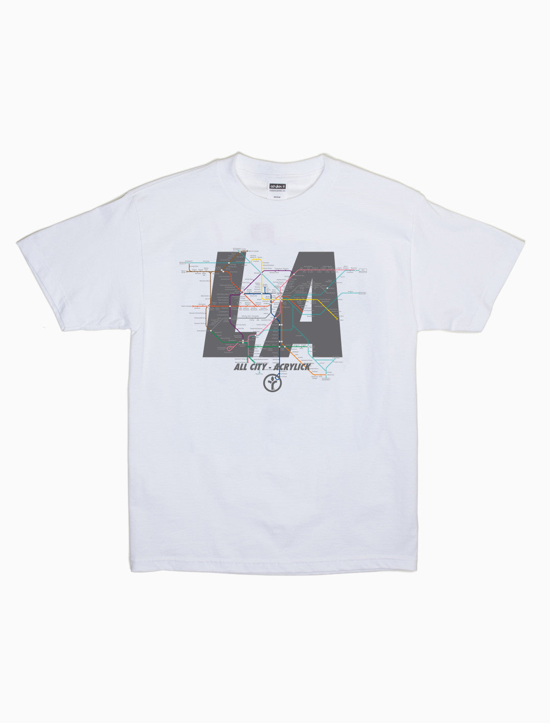 Acrylick - All City - Los Angeles - Tee
