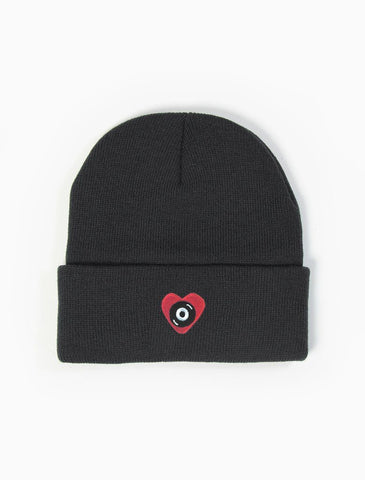 Acrylick Beanie - Des Concept - Heart Record