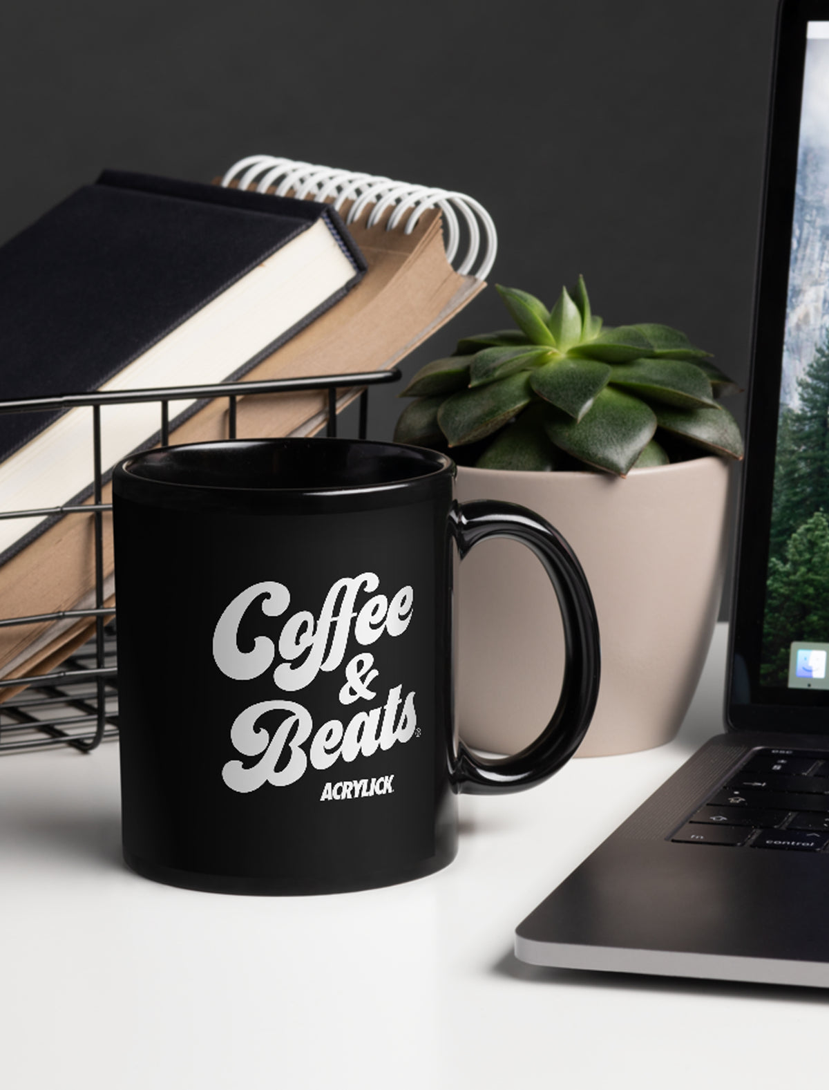 Coffee & Beats Mug (11oz)