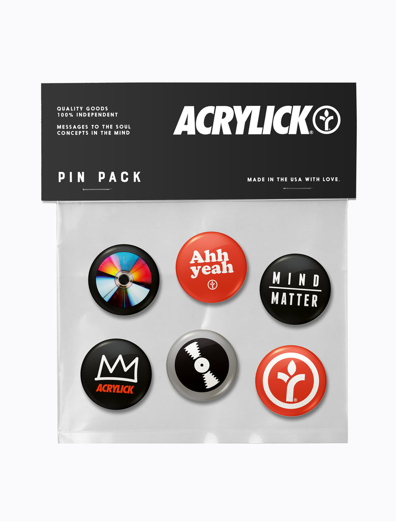 Pin Pack (6 Pack)