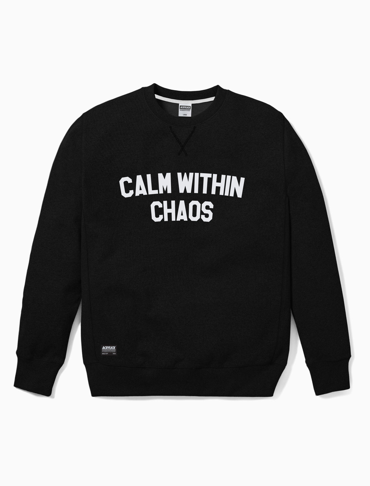 Acrylick - Calm within chaos - Crew neck - Sweatshirt