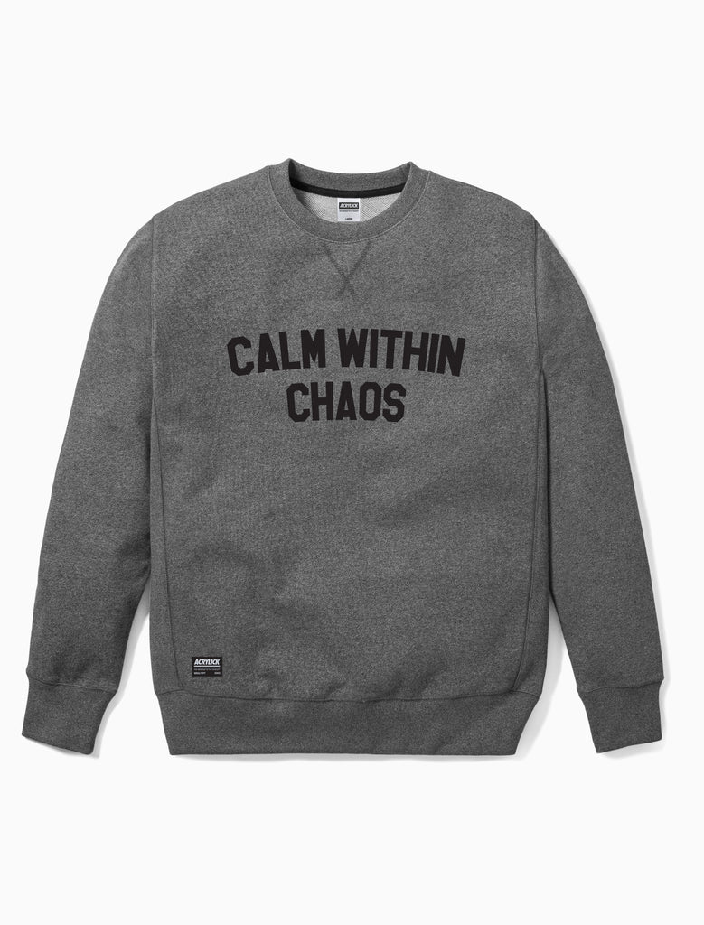 Acrylick - Calm within chaos - Crew neck - Sweatshirt (661683077148)