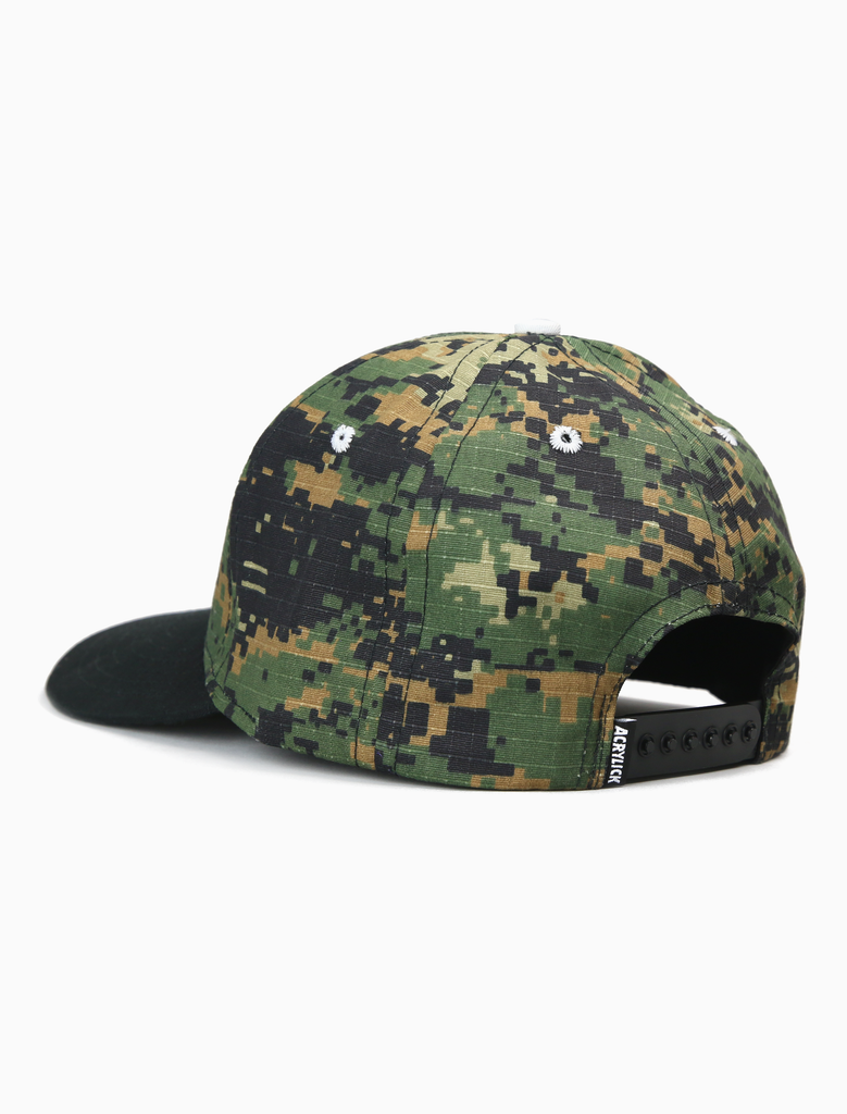 Full Circle Curved Brim Cap Camo