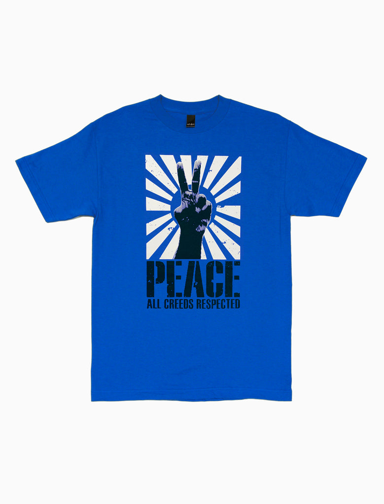 Peace To All Tee (4320093503599)
