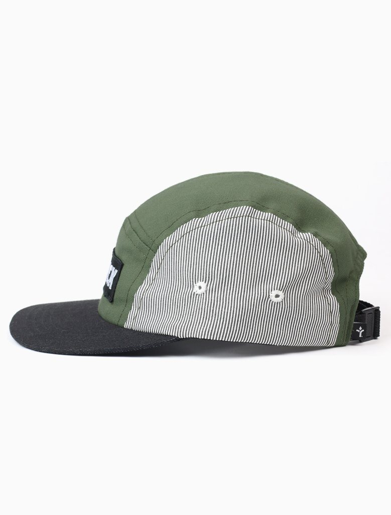 Strike Logo Moss 5 Panel