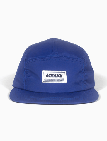 Acrylick - Strike Logo - Royal 5 Panel Camper