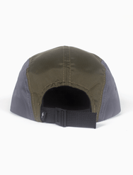 Acrylick Hat - Script Leather Foliage - 5 Panel Camper