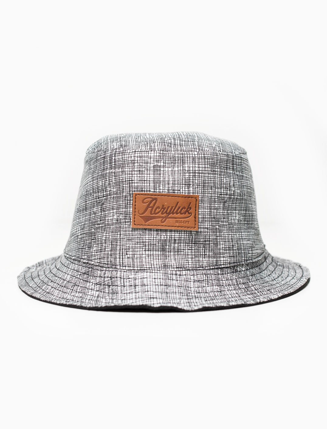 Acrylick Hat - Grid Bucket