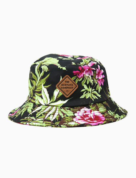 Midnighters Floral Bucket Hat