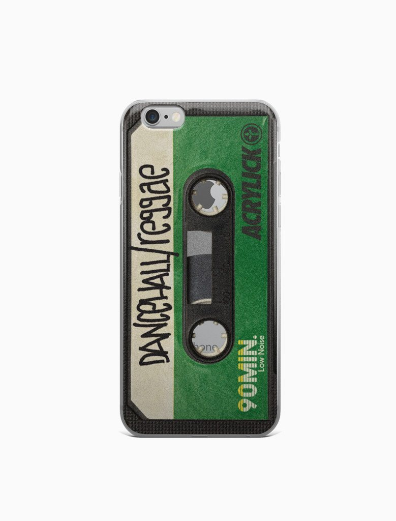 Dancehall / Reggae Cassette Tape iPhone Case