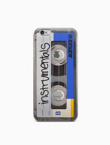 Cassette Tape - Instrumentals - iPhone 6/6s/6 Plus/6s Plus