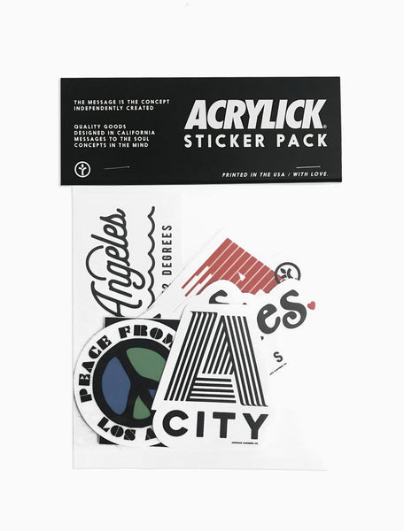 LA Capsule Sticker Pack