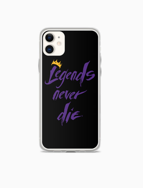 Legends Never Die iPhone Case