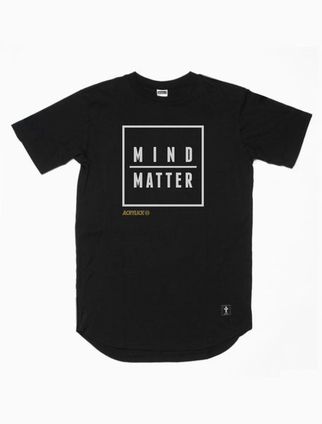Acrylick - Mind Over Matter - High Low - Scoop Tee